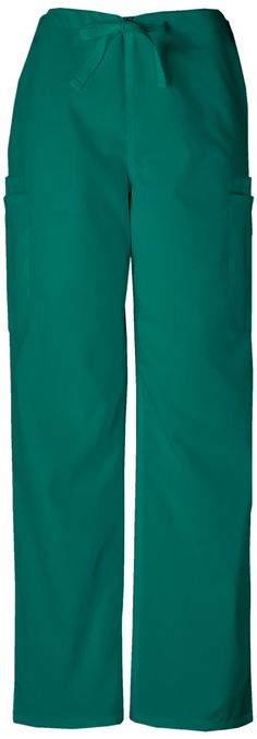 6c05449365a Cherokee Workwear Men's Drawstring Cargo Pant (Regular) in Hunter from Cherokee  Scrubs at Cherokee 4 Less