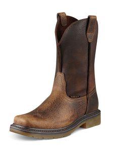 Men's Rambler Work Boot - Earth/Brown