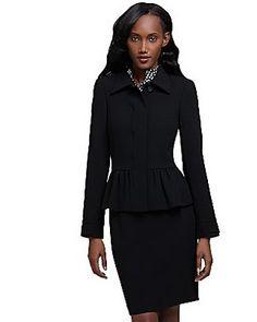 my black suit
