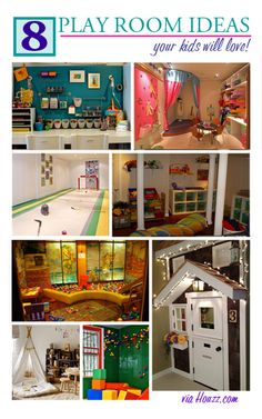 Basement Play Room Ideas: Creating a Play Room in Your Finished Basement