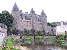 Château de Josselin,  Viscount Guethenoc de Porhoet, begun 1008, Josselin, Brittany, France.