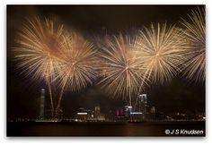 Hong Kong National Day Fireworks