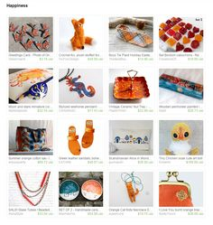 My Chicken Art Doll was added to Happiness by Gioconda Pieracci on Etsy