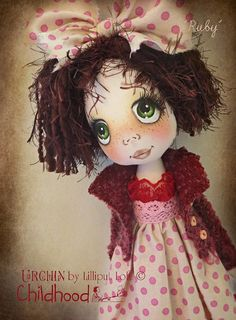 RESERVED Final Payment on CUSTOM Urchin Childhood por lilliputloft