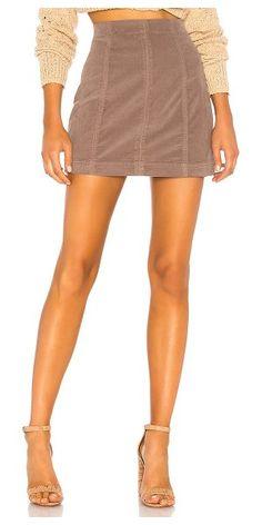 4ded5f4252 Free People Modern Femme Cord Mini Skirt