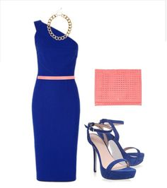¿Sabes combinar un vestido de invitada en azul klein? Te enseñamos 4 formas diferentes