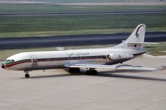 Vintage Royal Air Maroc Sud Aviation Caravelle