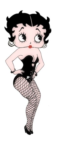 Betty Boop has her Tap Dancing Costume on & is resdy to go.....
