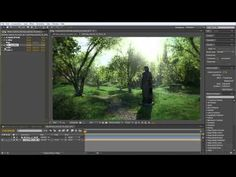Creating Trees in Maya / Paint Effects Forest Techniques, part Three with Alex Alvarez - YouTube