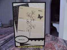 Carolyn's Card Creations: Happy Watercolor Paint Chip Card