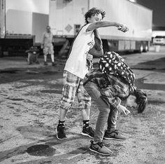 Wyatt and Jaeden ❤
