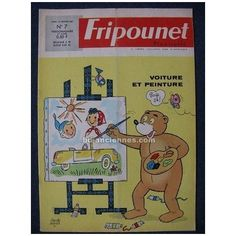 Fripounet Marisette n°46 - 1963 sylvain et sylvette secret du buchet bd anciennes Sylvain Et Sylvette, Age Tendre, Dupont, Retro, Disney, Vintage Books, Animated Cartoons, Childhood Memories, Comic