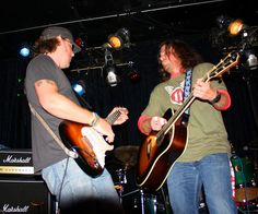 Steve Carlson and Christian Kane   Natalie J Case pic please dont remove watermark from pic and keep credit when repinning please! thanks