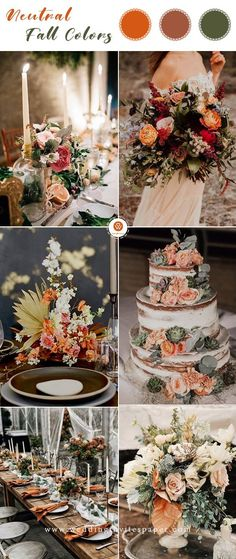 Neutral hues rustic wedding ideas for spring or fall country weddings wedding cakes wedding centerpieces wedding bouquets vintage wedding theme Vintage Wedding Theme, Wedding Cake Rustic, Wedding Cakes, Wedding Venues, Country Wedding Themes, Vintage Country Weddings, Card Wedding, Fall Wedding Centerpieces, Wedding Bouquets
