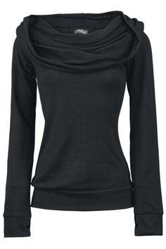 The black Vixxsin hooded sweater