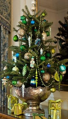 Ruth Burts Interiors: for the love of: Tabletop Trees