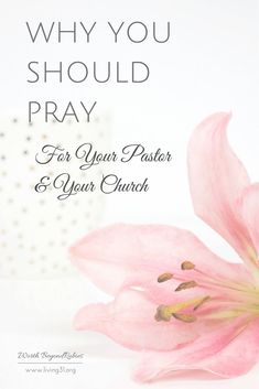 Why You Should Pray For Your Pastor & Your Church by Rachel Britton - Guest Post on Worth Beyond Rubies www.living31.org/pray-pastor/