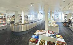 GGG City Library, Basel, Switzerland Photo: © Lilli Kehl, Basel, Switzerland Interior Design And Space Planning, City Library, Drupal, Basel, Switzerland, Architecture, Home Decor, Arquitetura, Homemade Home Decor