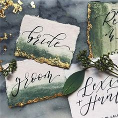 40 Wedding Place Cards You Won't Want to Put Down#follow