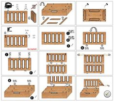 DIY building instructions - the clever and inexpensive camping box for DIY Bauanleitung – Die clevere und preiswerte Campingbox zum Stecken! DIY building instructions – the clever and inexpensive camping box to plug in! Camper Beds, Car Camper, Mini Camper, Caddy Camping, Camping Hacks, Camping Diy, Couples Camping, Camping Kitchen, Camping Packing
