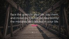 "Image result for images ""face the giants in your life"""