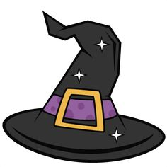 Witch Hat SVG scrapbook cut file cute clipart files for silhouette cricut pazzles free svgs free svg cuts cute cut files