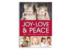 Personalisierter Adventskalender Weihnachtsgrüße Joy