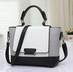 Vintage women handbag casual shoulder bag ladies fashion messenger bag female portable color block small bags bolsa feminina