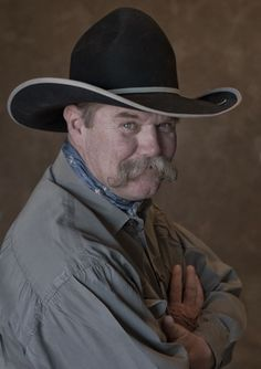"""7c7c05c98ca The Nevada Arts Council is proud to honor cowboy poet Bruce """"Waddie""""  Mitchell"""