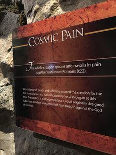 Creation Museum, Cosmic