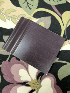 Annie Sloan Chalk Paint Eggplant color recipe:  1 part Emperor's Silk  1 part Napoleonic Blue  3 parts Graphite