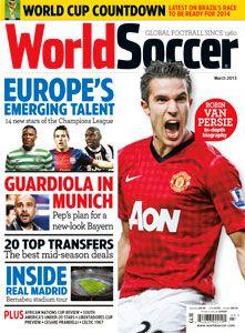 World Soccer March 2013 World Soccer World Soccer Magazine Workout Chart Soccer