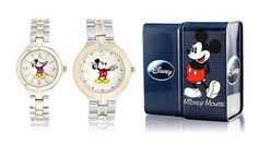 $29.99 + FREE shipping! Officially Licensed Disney Mickey Mouse Classic Two-Tone Stainless-Steel Quartz Men's or Ladies' Watch!