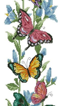 123 Cross Stitch, Cross Stitch Tutorial, Cross Stitch Bookmarks, Cross Stitch Borders, Cross Stitch Animals, Counted Cross Stitch Kits, Cross Stitch Designs, Cross Stitching, Cross Stitch Patterns