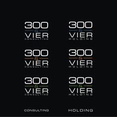 300&VIER - Management Firma brauch Logo