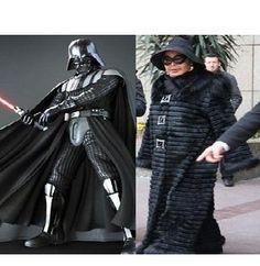 Bülent Ersoy the Darth Vader
