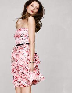 05a09ad8628 White House Black Market Ruffled Print Sundress  lt 3 Girly Outfits