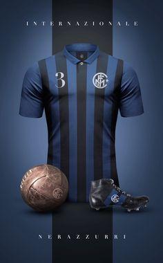 Italia Italian National Soccer Italy Azzurri Futbol Vintage-Look T-Shirt