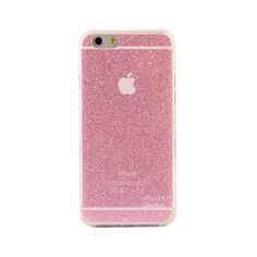 PINK GLITTER IPHONE CASE ($24) ❤ liked on Polyvore featuring accessories, tech accessories, phone, phone cases, iphone, tech, apple iphone cases, glitter iphone case, iphone sleeve case and sparkly iphone cases