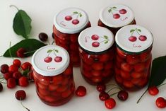 Cherry, Sweets, Gem, Vegetables, Food, Canning, Food Recipes, Sweet Pastries, Meal