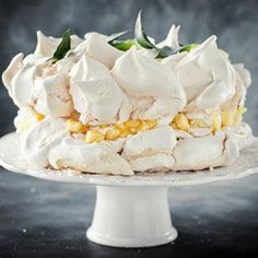 Tort bezowy Piña Colada   Kwestia Smaku