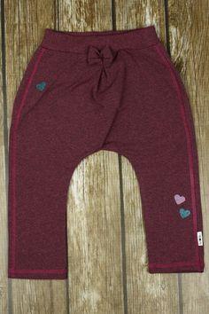 Pumpy dla dziewczynki, ciemny róż / 98 w Kropka Textile na DaWanda.com