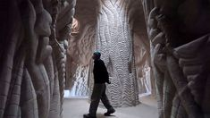 a look inside ra paulette's hand dug luminous caves in new mexico