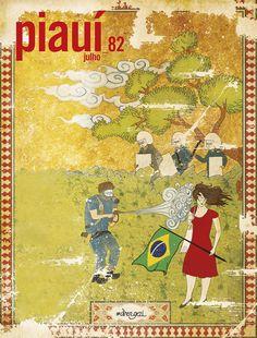 Capa da revista Piauí :: julho 2013
