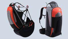 silla de parapente ligera, ultraligera,mochila reversible advance lightness 2, hike and fly, vivac, vuelo de montaña, correr y volar