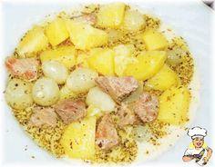KUMBURSİYE (Hatay) - m.lezzetler.com Turkish Recipes, Ethnic Recipes, Hawaiian Pizza, Fruit Salad, I Foods, Potato Salad, Macaroni And Cheese, Oatmeal, Food And Drink