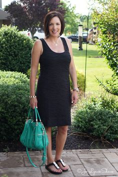 Fashion Over 40: How to Accessorize a LBD for Summer