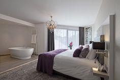 Junior suite in hotel van der Valk Haagsche Schout Leiden.