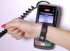 MasterCard and other Canadian issuing banks have begun pilot testing an NFC version of Nymi http://www.nfcworld.com/2014/11/03/332412/canadian-banks-pilot-biometric-wristband-payments/