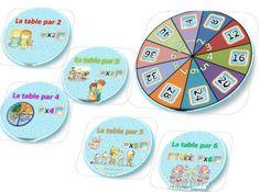 Les mandalas des tables de multiplication ; centralisation . Un façon globale pour synthétiser les tables de multiplication et les mémoriser de manière ludique. Math For Kids, Fun Math, Diy For Kids, Math Measurement, Multiplication And Division, Science Activities, Activities For Kids, Math Tables, Montessori Math